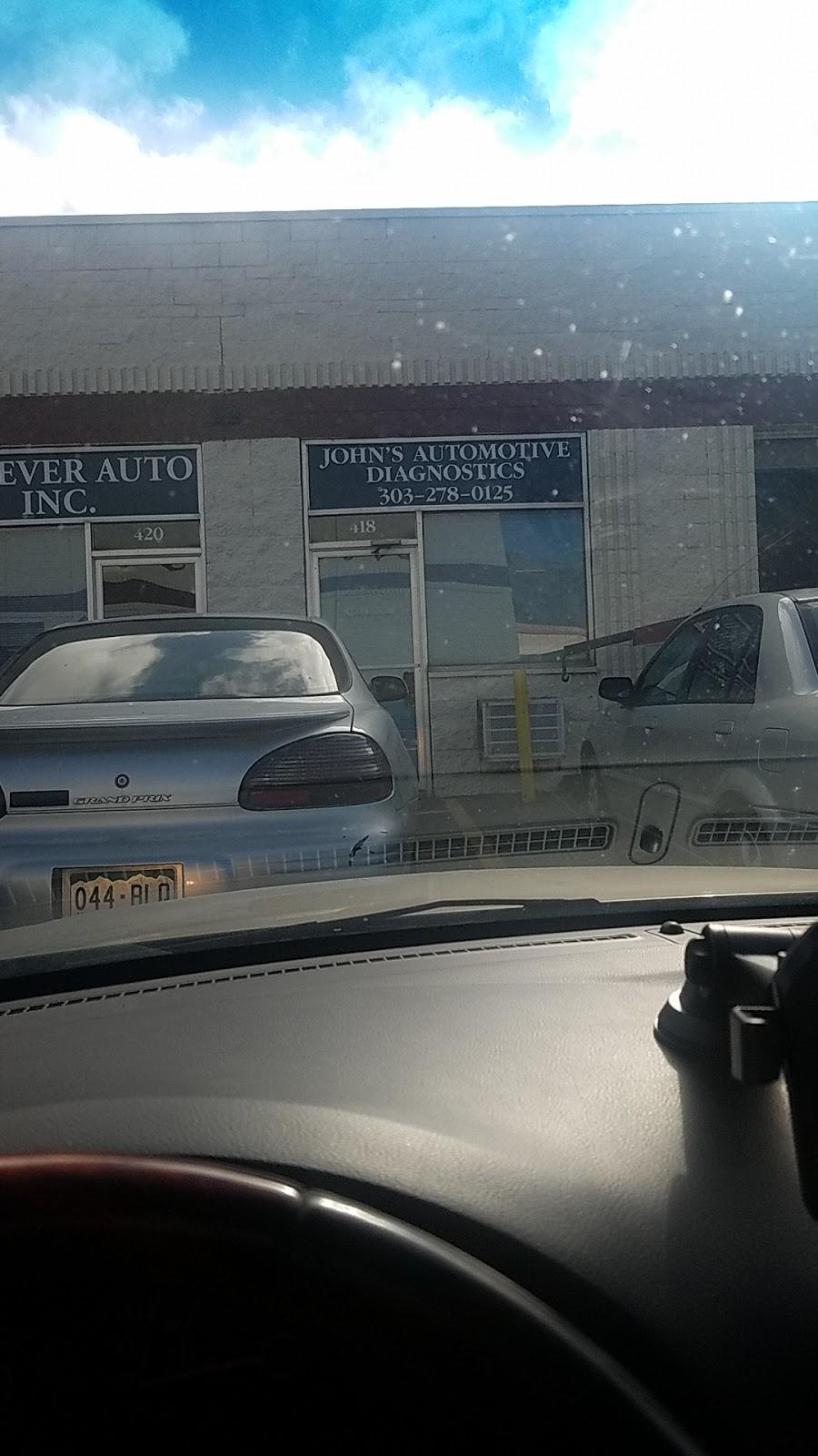 John's Automotive Diagnostics/ forever auto